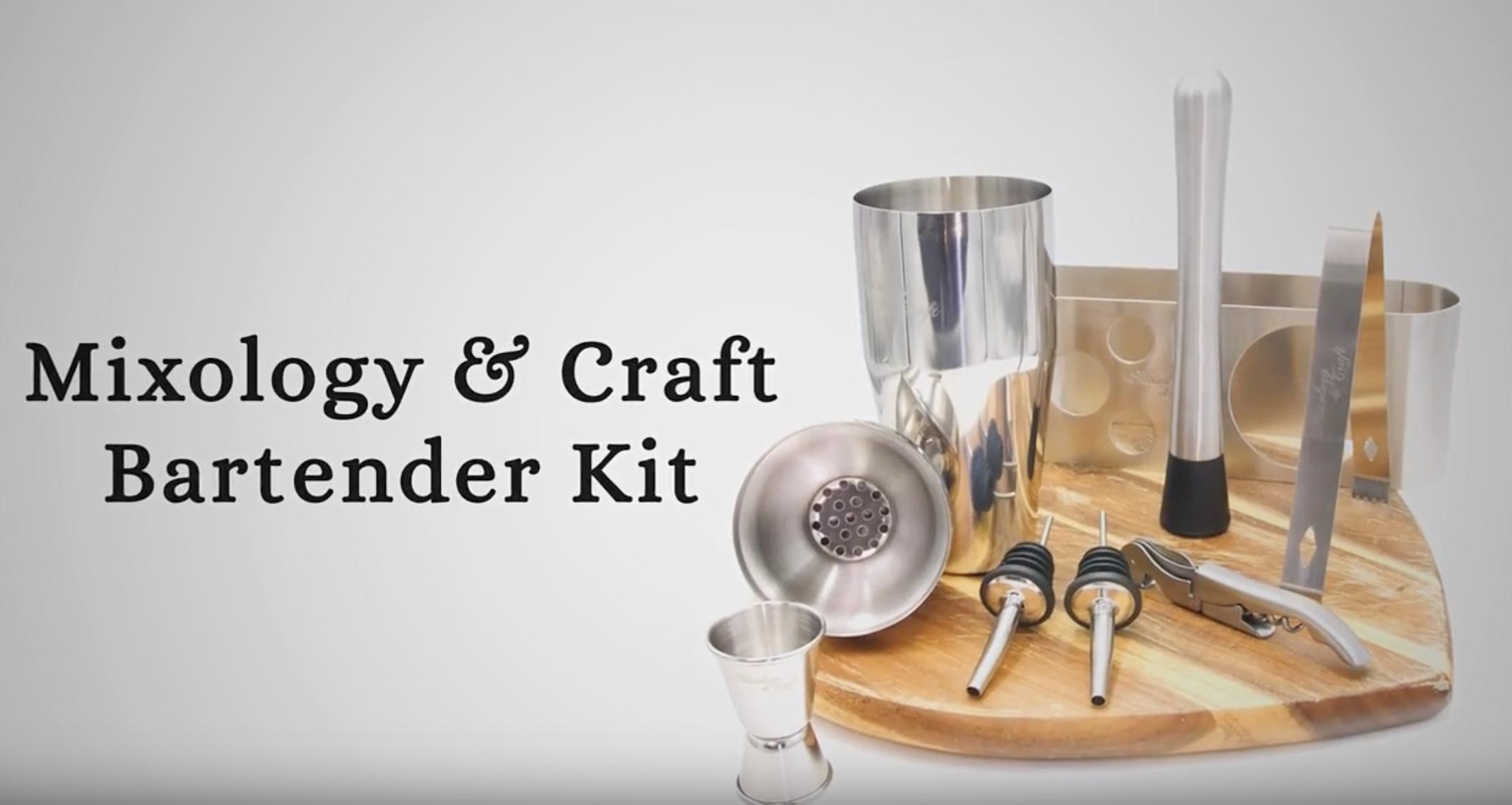 Bartender Kit Demo/Overview